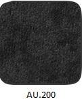 fekete szövet