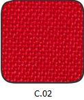 piros szövet